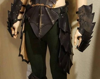 Leather Armor Gothic Set