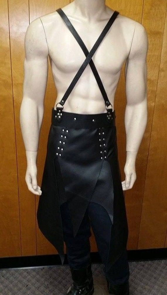 leather armor war skirt
