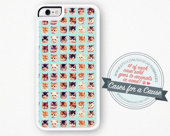 Cat IPhone Case / Cat IPhone 6 Case Cute IPhone 5C Case Case
