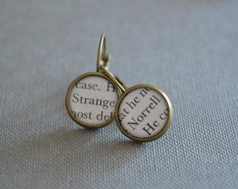Strange and Norrell, Jonathan Strange and Mr Norrell Earrings