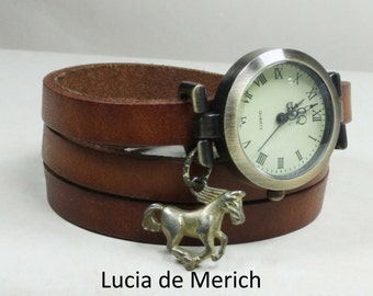 Horse lover wrapwatch - Horse lover gift - Horse watch - Black friday-Cyber monday.