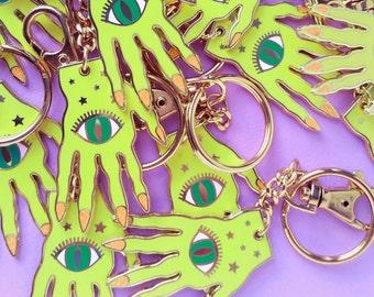 sale Witch Hand Keychain