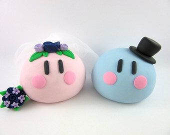 Dango Wedding Cake Topper Polymer Clay