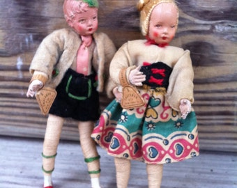 Shackman Doll House Dolls
