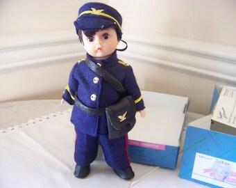 Union officer soldier Madame Alexander 8 inch doll