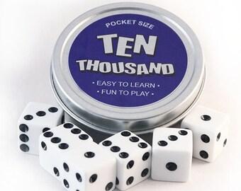 Ten Thousand - 10000 Dice Game Tin