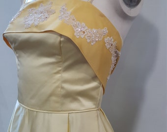 1950's Satin Gown
