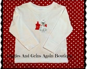 Puppy Tee Shirt - Petey the Pup Embroidered Tee Shirt 2 to 5T