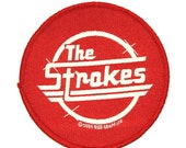 "Rock Band Logo ""The Strokes"" Concert Jacket Apparel Music Sew On Applique Patch"