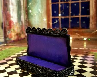 Mini Purple Fancy Fairy bench