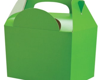 Apple Green Gable Party Boxes
