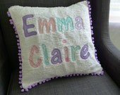 16x16 Name Pillow Cover