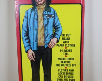 Welcome Back Kotter - Vinny Barbarino Paper Doll With Clothes - MIB - 1976 - John Travolta.
