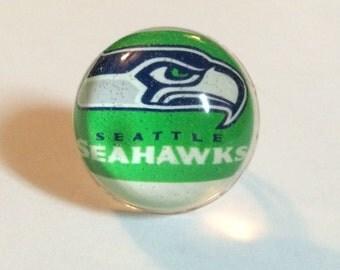 Seattle Seahawks Ring - Seattle Ring - Seahawks Ring - Seattle Seahawks - Seattle Seahawks Jewelry - Football Ring - Football Jewelry