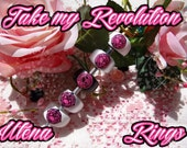 o·:*)) ~Rose Ring Revolutionary Girl Utena ROSE CREST Dualist Signet