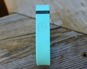 Monogrammed Laser Engraved Fitbit Flex Wristband Replacement - Tracker NOT Included