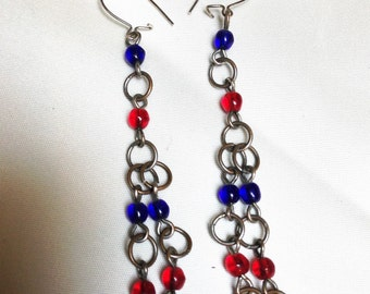 Chain earrings from the 60's.
