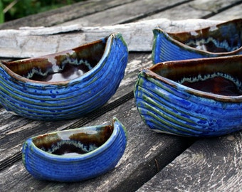 Boat Nut Dishes - Small