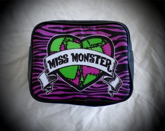 Miss Monster travel pouch