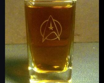 Starfleet Shot Glass