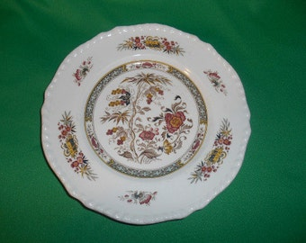 """One (1),  Adams China, 8 1/4"""", Salad Plate, in the Jeddo Pattern."""