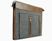 """20% OFF in a week!! New Design for 11"""" 13'' 15"""" Felt Macbook Air Sleeve Case Bag 13'' Retina Pro Laptop Computer Leather Fashion Bag E2414"""