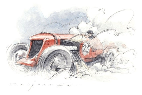 NAPIER BENTLEY Limited Edition Print