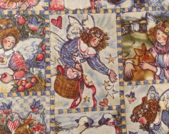 Everyday Angels Quilting Fabric, Susan Winget fat quarter