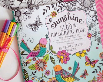 Grownup Colouring Book, Adult colouring book
