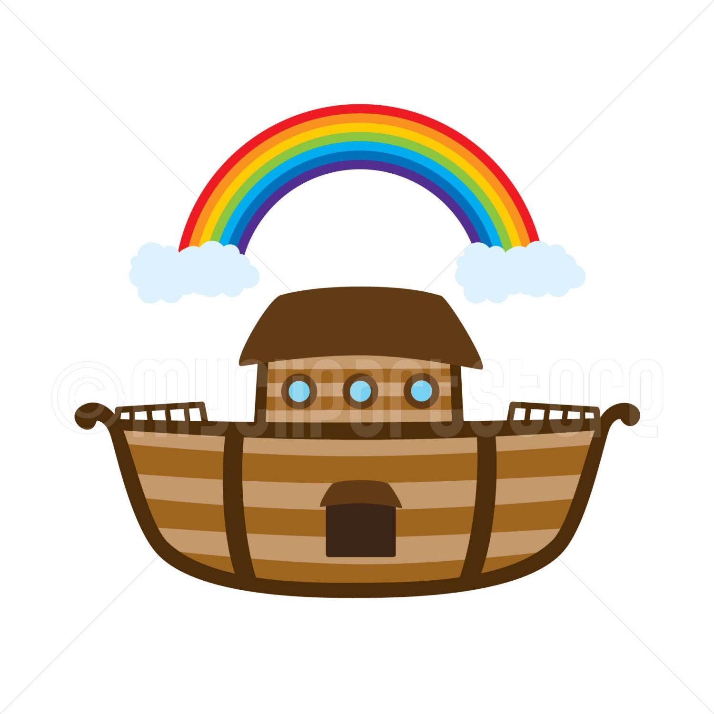 Clipart Noah's Ark / Bible Stories Ship Boat Single