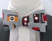 Men's bowtie  ~ Take a photo ~ camera design   ~ neoud ~ papillion ~tie ~wedding bowtie