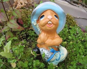 "Vintage PenDelfin Rabbit (Bunny) Figurine, ""Whopper,"" circa 1979 - Flat Rate Shipping"