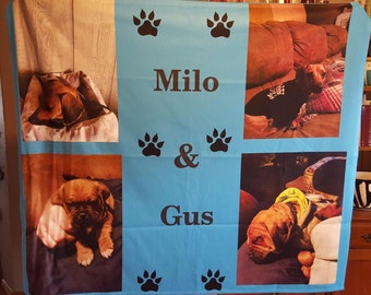 photo blanket, customized blanket, personalized blanket, polar fleece blanket, picture blanket, custom made blanket
