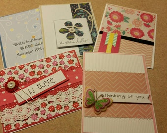 Set of friendship cards