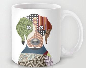 Beagle Mug, Cute Dog Mug,  Ceramic Mug, Pet Mug, Dog Lover Mug, Tea Mug, Beagle Gift, Gift for Dog Lovers, Animal Mug