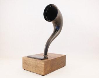 Bluetooth Speaker, Gramophone Speaker, Vintage Speaker, Antique Speaker, Steampunk Speaker, Smartphone Speaker, iPhone Speaker, Speaker