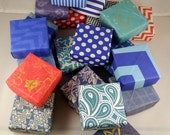 Custom Order for alhasler:  set of 50 small custom gift box, favor box, custom colors