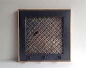 Please Do Not Purchase Reserved For Christine - Barnwood Ceiling Tin Magnet Board Key Holder