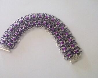 Coiled Butterfly Bracelet