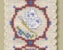 Medieval Flowers Bookmark Cross Stitch Kit - Textile Heritage BKMF