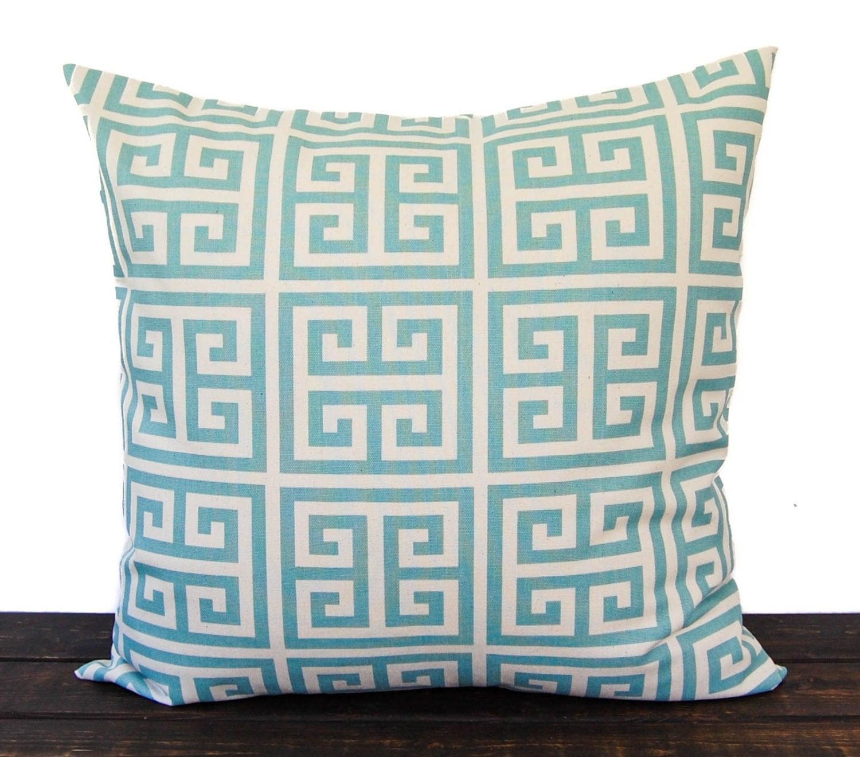 Smokey Blue Throw Pillows : Pillow Throw Pillow Pillow Sham Cushion Cover by ThePillowPeople