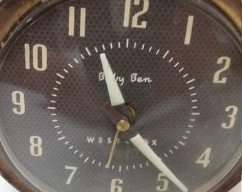 Vintage Westclock Big Ben Alarm Clock Retro