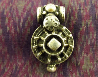 Antique Silver Tribal Pendant