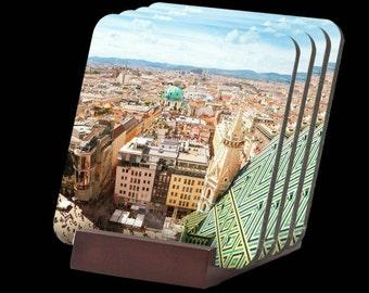 Vienna, Austria Coasters Set of Four