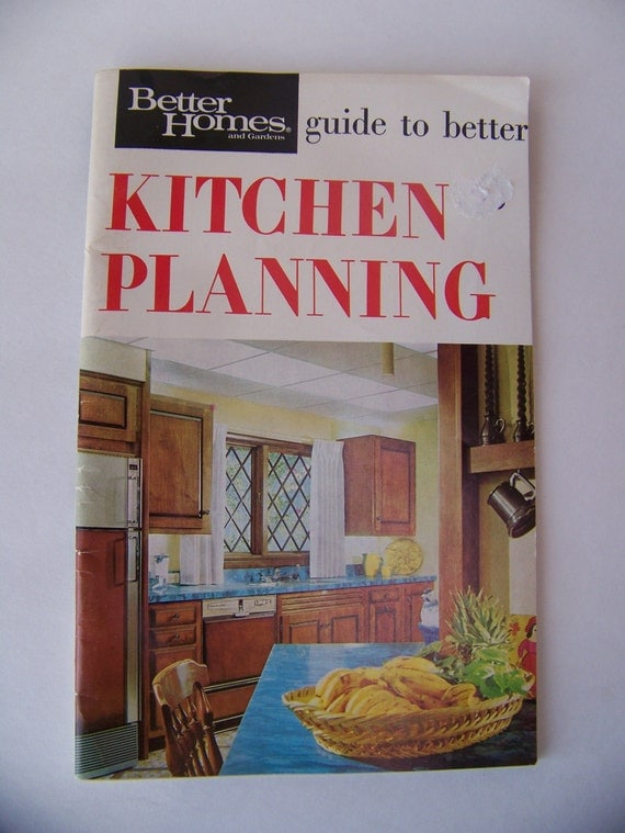 Vintage Better Homes and Gardens Kitchen Planning 1969Vintage
