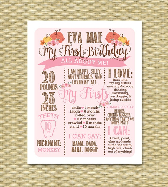 Little Pumpkin 1st Birthday Poster Birthday Sign All About Me. Harvard Graduate School Of Design Acceptance Rate. Youth Program Proposal Template. Avery Return Address Labels Template. Graduation Jewelry For Her. Capability Statement Template Free. Tri Fold Brochure Psd Template. Retirement Certificate Template. Excellent Banquet Steward Cover Letter