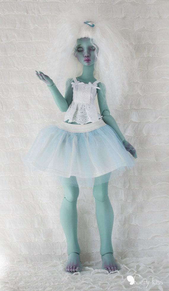 light blue tulle skirt for lillycat manon
