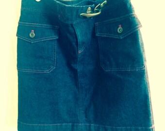 Ralph Lauren denim skirt size 2 vintage