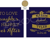 Karen's wedding koozies