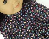18 Inch Doll Clothes  --  Flower Print Tunic Blouse -- 1 Piece (5-68)